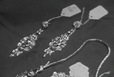 klasyczne długie kolczyki ślubne